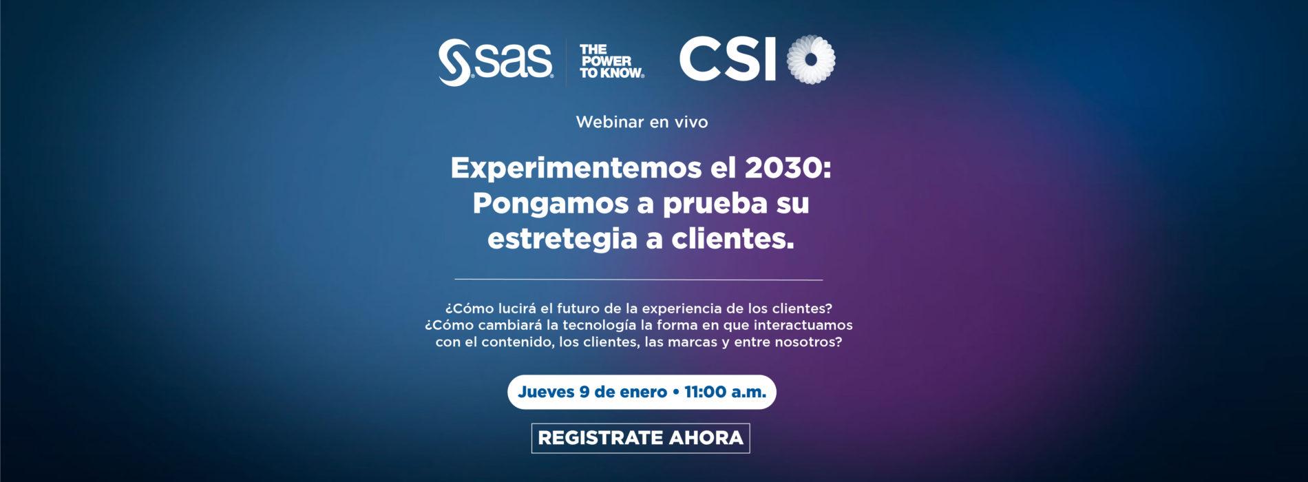 SAS Webinar